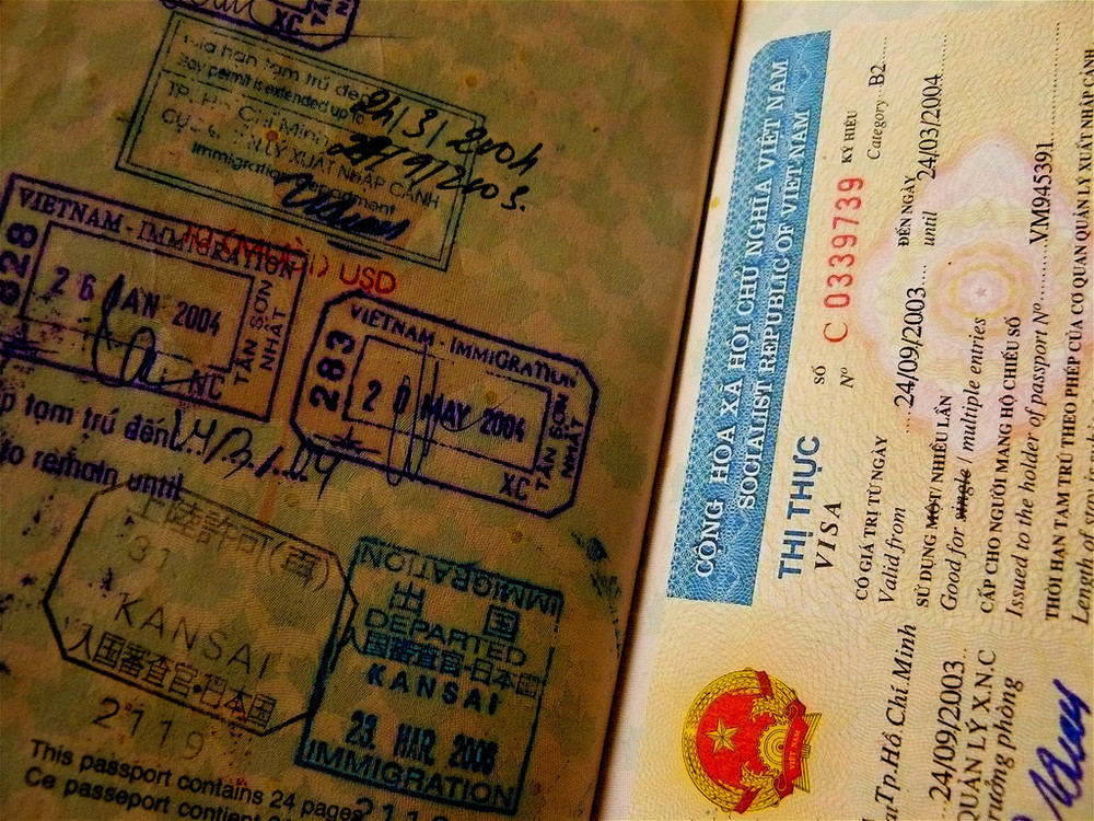 Visa and work permit for Vietnam