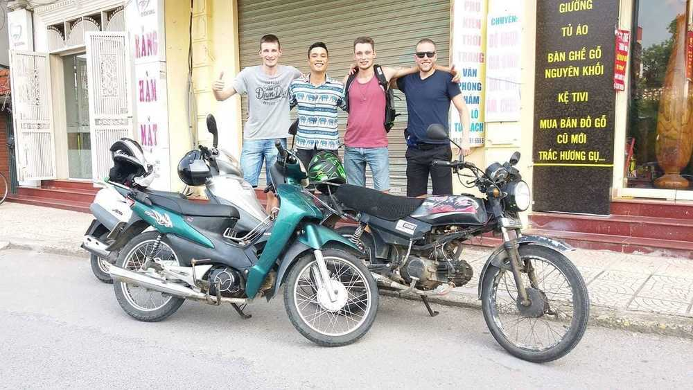 Buying a motorbike in Hanoi
