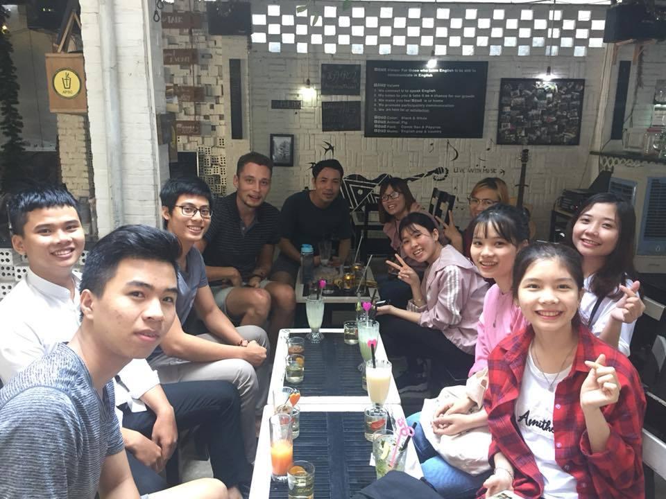 Teaching adults in Da Nang
