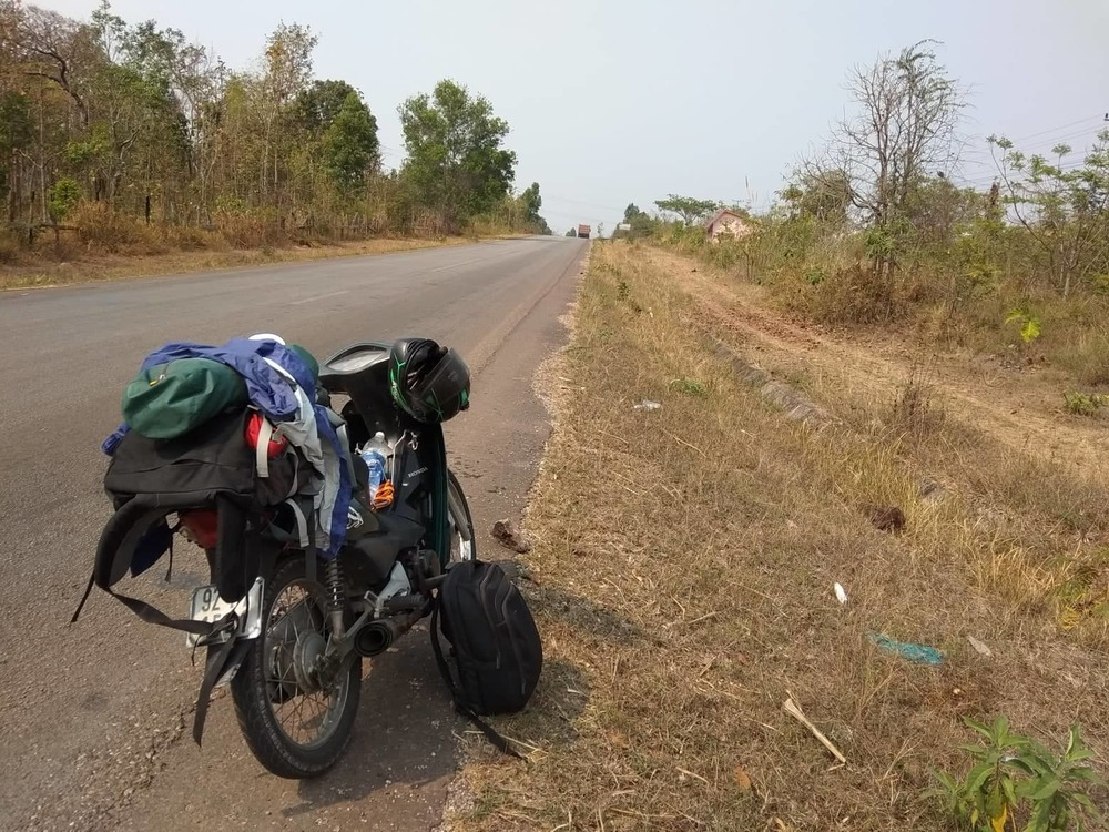Process of bringing motorbike from Vietnam to Laos