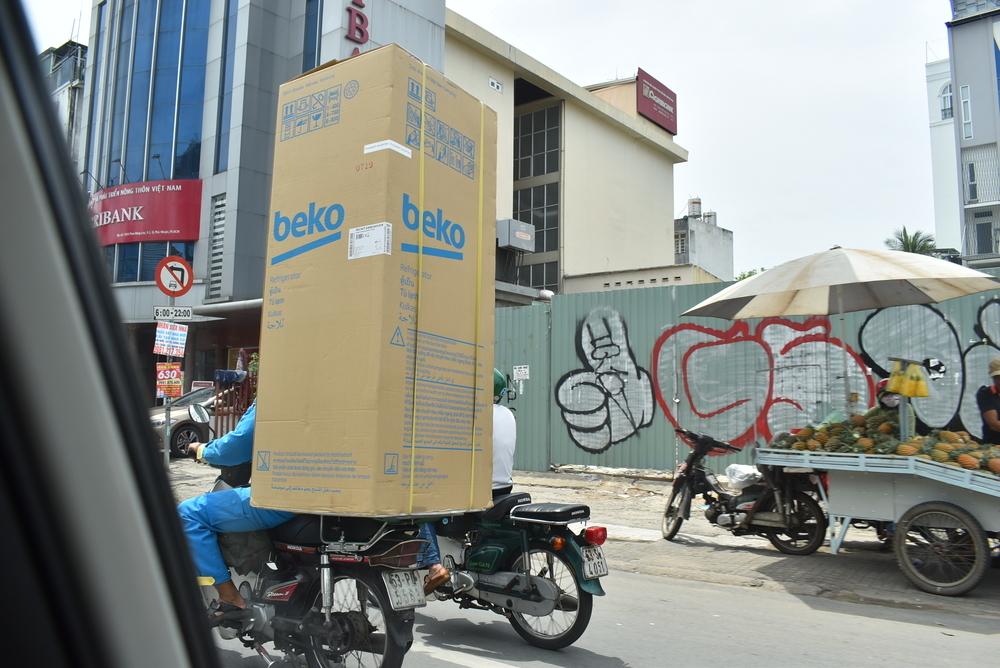 Exploring Saigon with Grab.
