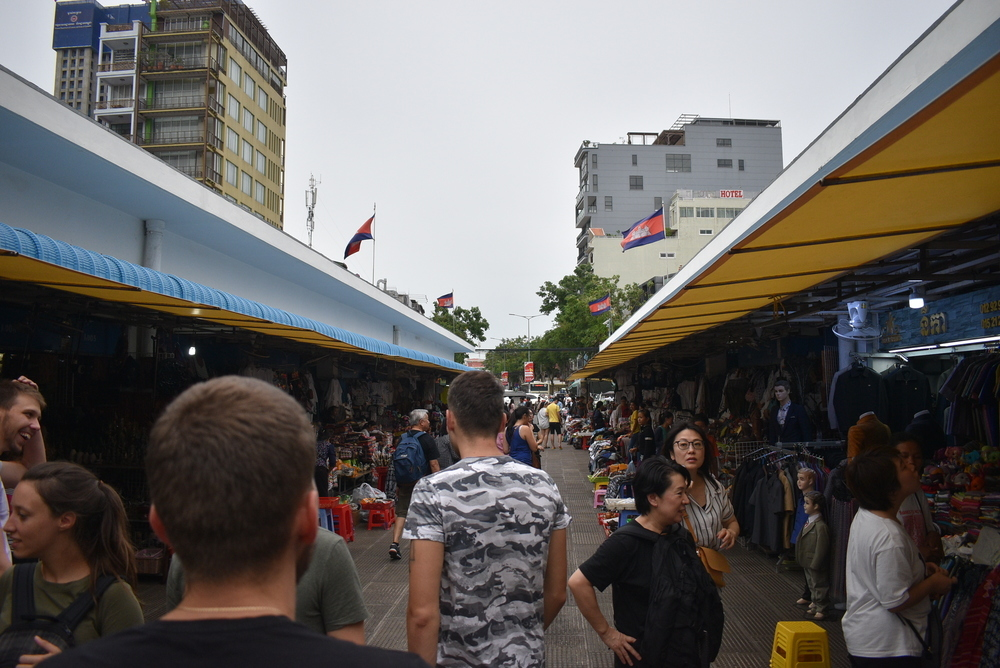 Central Market is very busy and feels like a small city!
