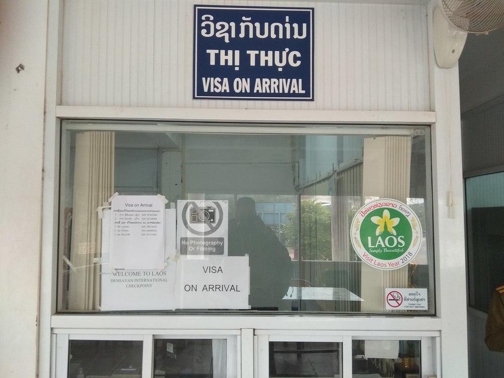 Vietnam Visa Run, Apply for a visa on arrival