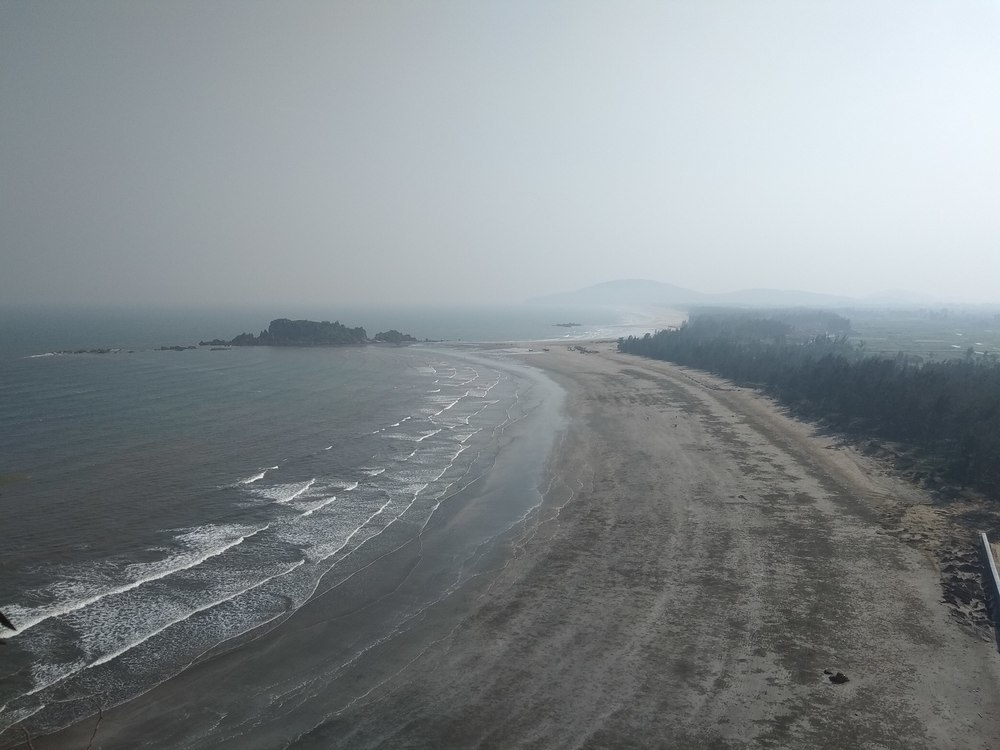 Overlooking Quynh Nghia beach