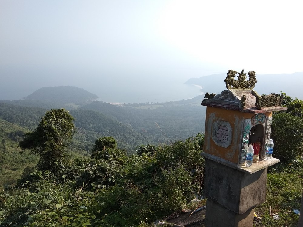 A view from Hai Van pass.