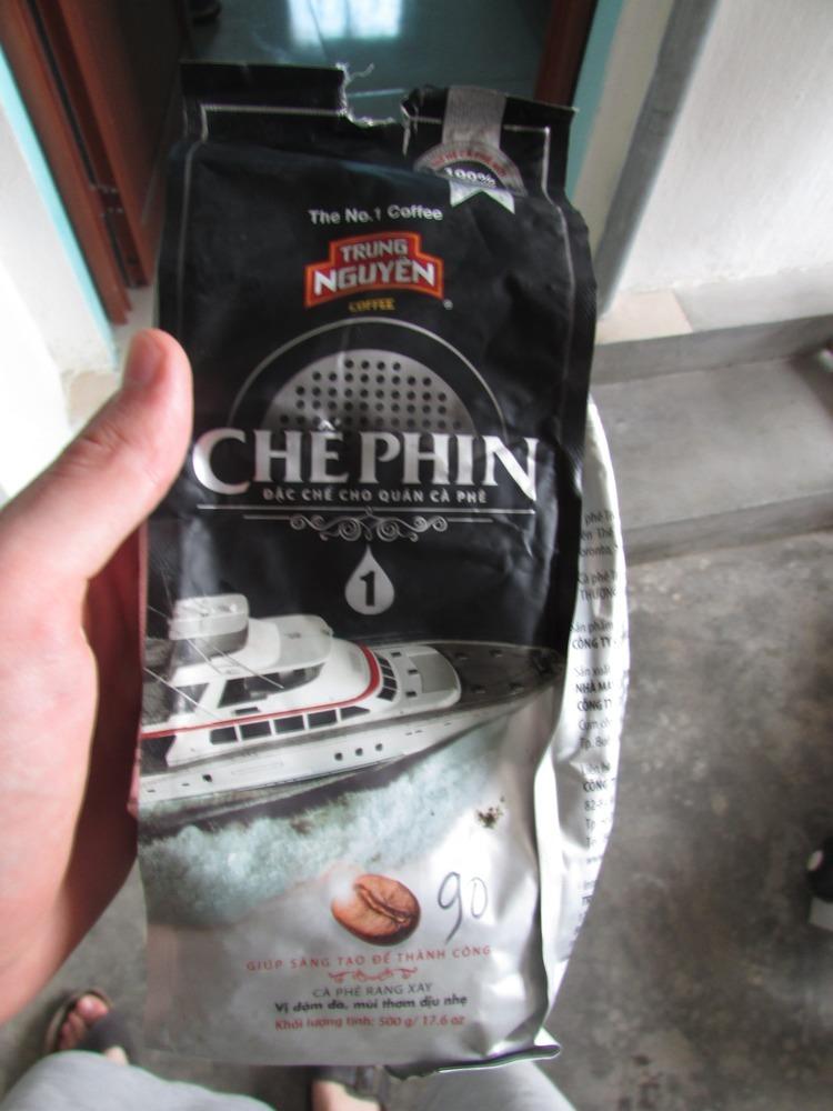 Trung Nguyen coffee brand in Vietnam