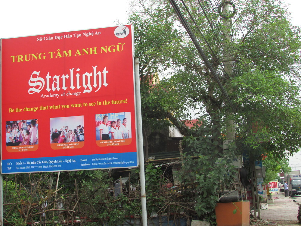 Starlight - a volunteering project in the countryside of Nghe An province, North Vietnam