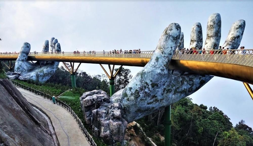 Golden Bridge at Bana Hills