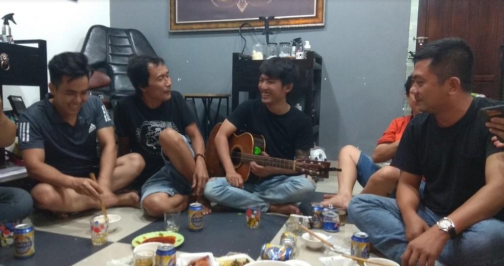 Family party in Da Nang