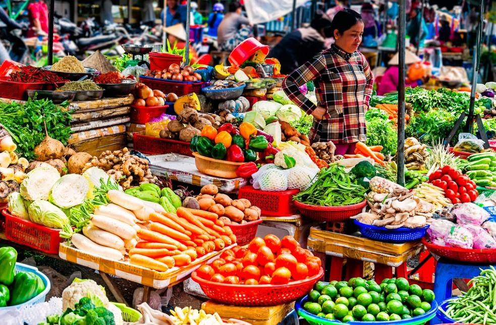 Rich food culture in Vietnam