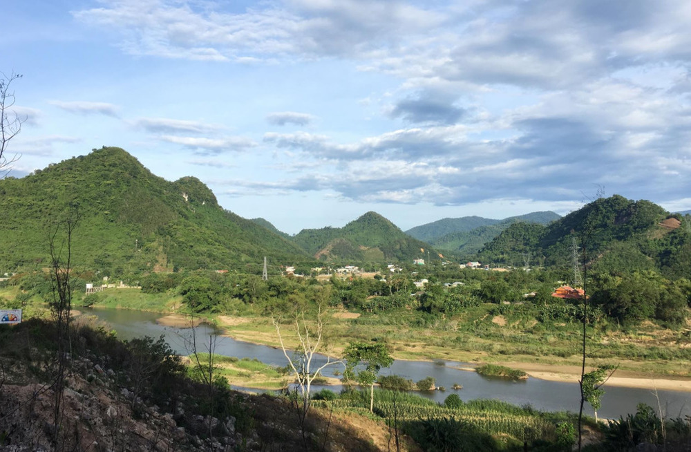 Overlooking Thanh My
