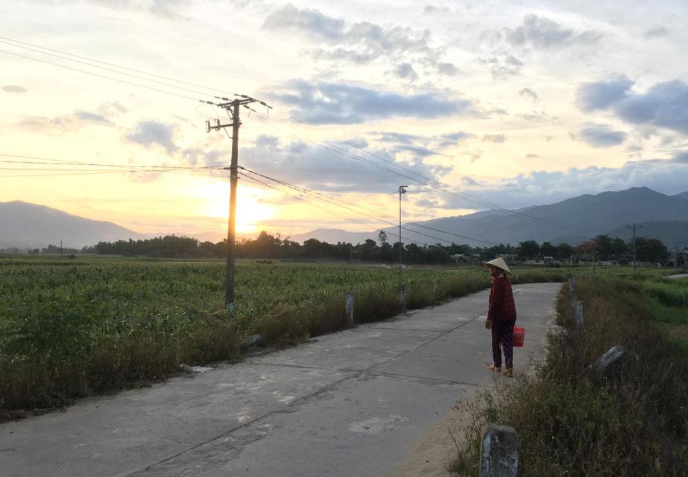 Tiny village near Thanh My