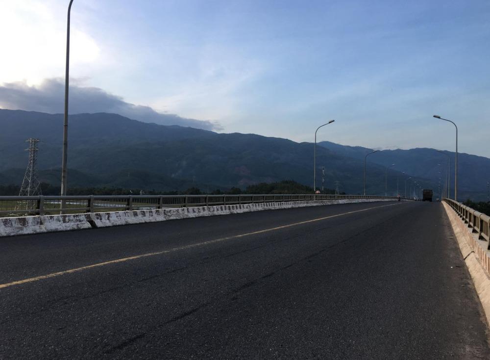 Bridge leading to Da Nang