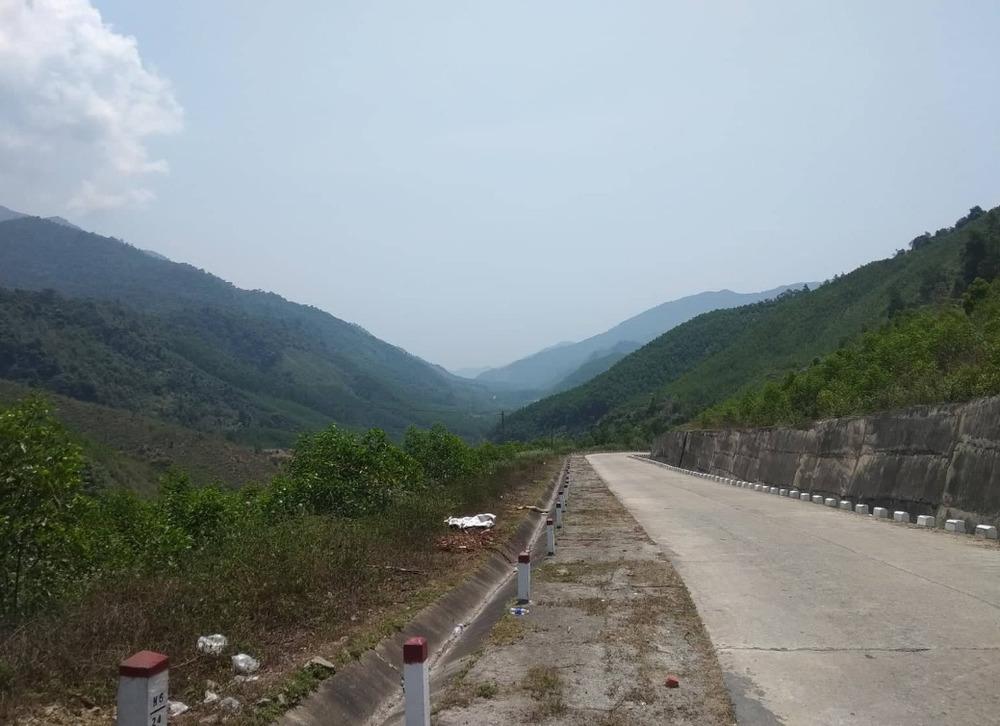First stunning mountainous pass