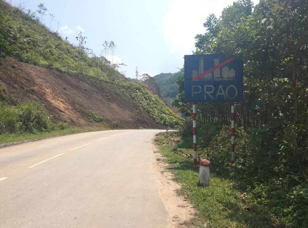 Getting out of Prao town