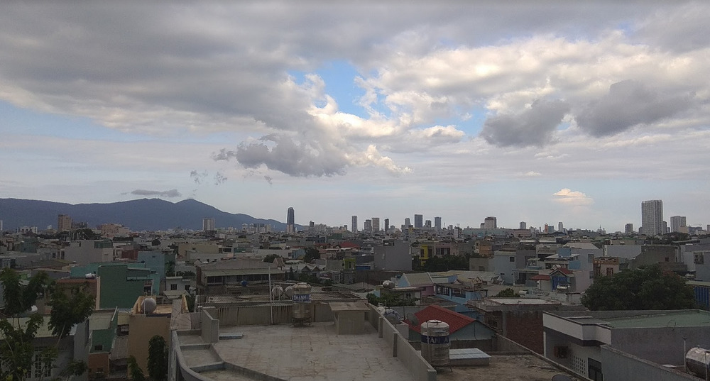 Da Nang rooftop view