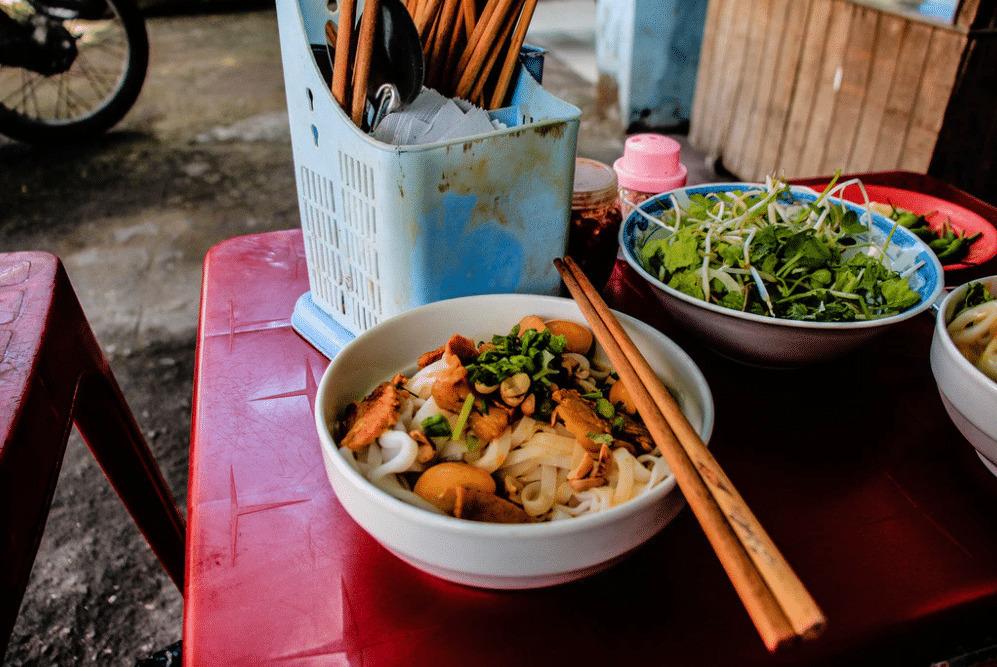 A bowl of Mi Quang