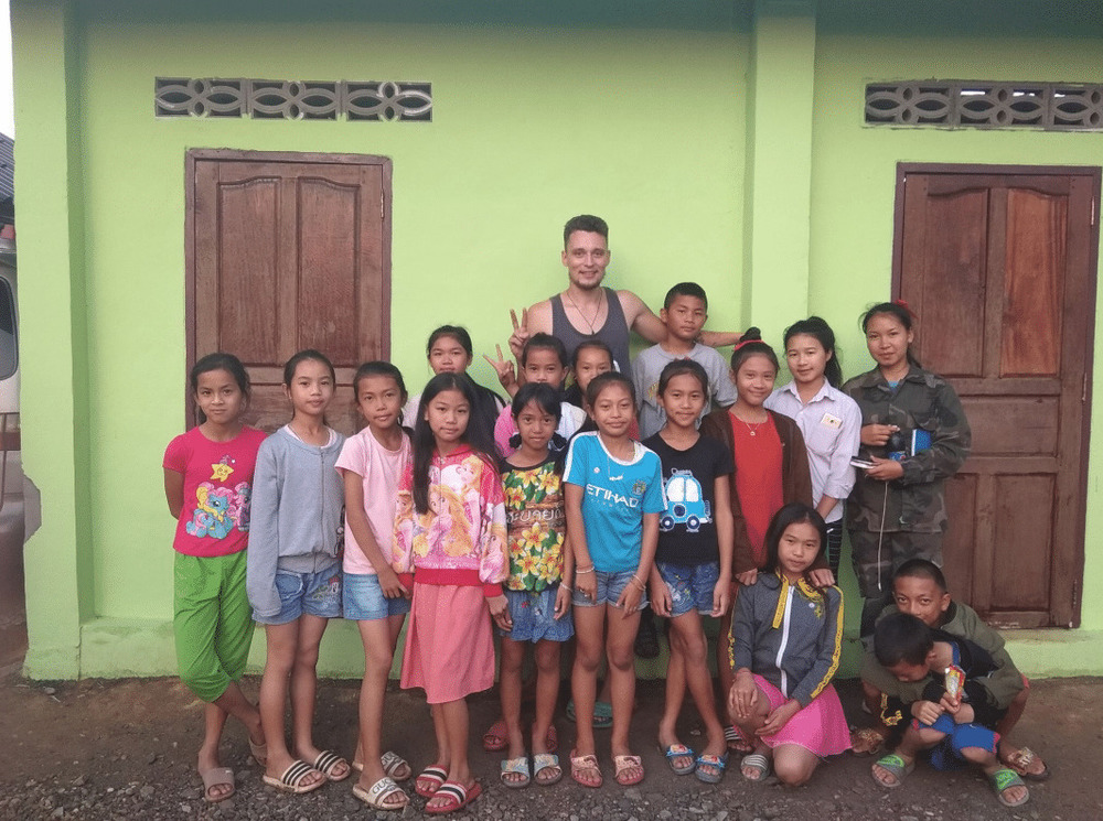 My students in Laos.
