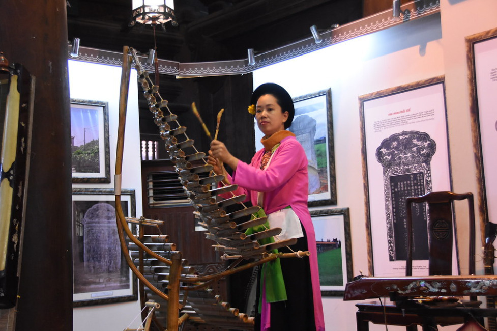 Traditional Vietnamese musical instrument