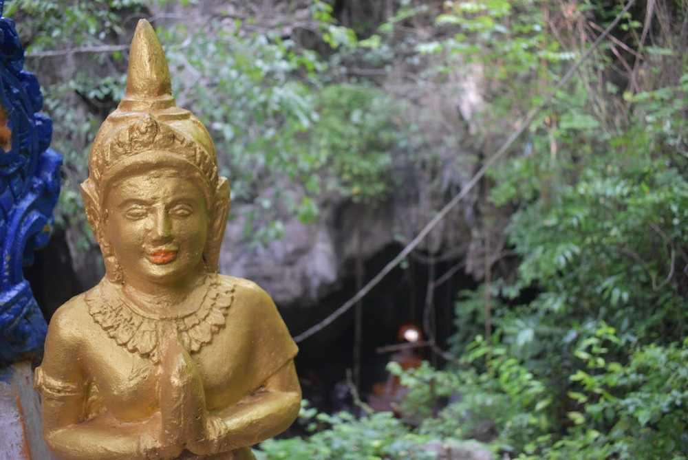 The Killing Caves of Battambang - both the place of grim tragedy, and natural wonder.