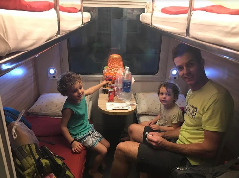 Overnight train from Hanoi to Da Nang