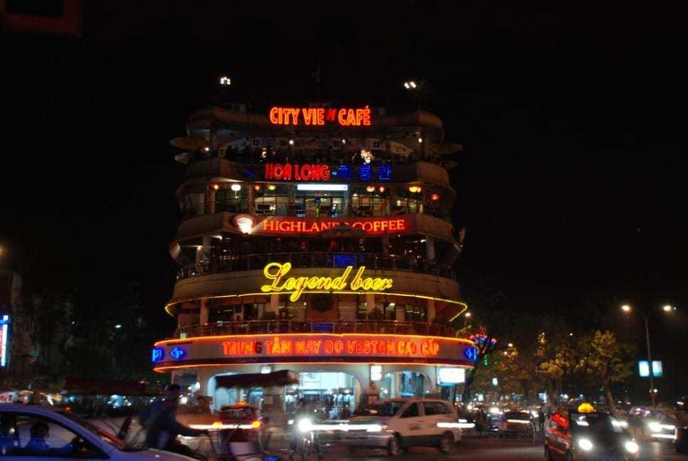 Night time in Hanoi