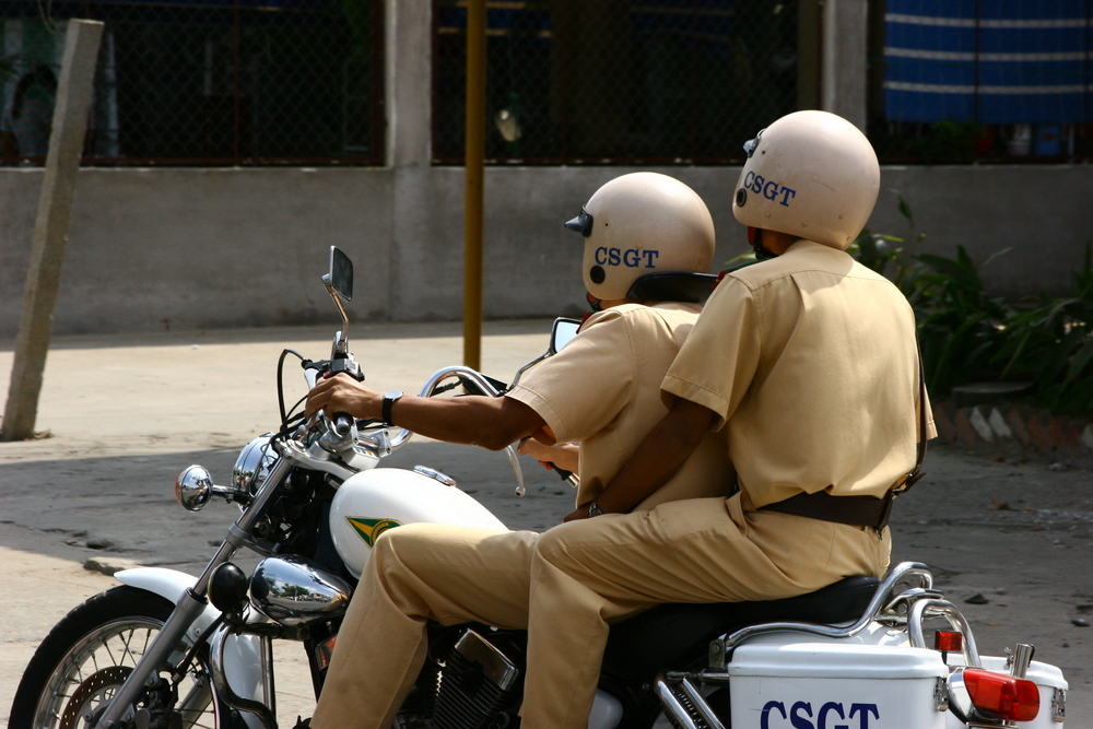 Vietnamese traffic police