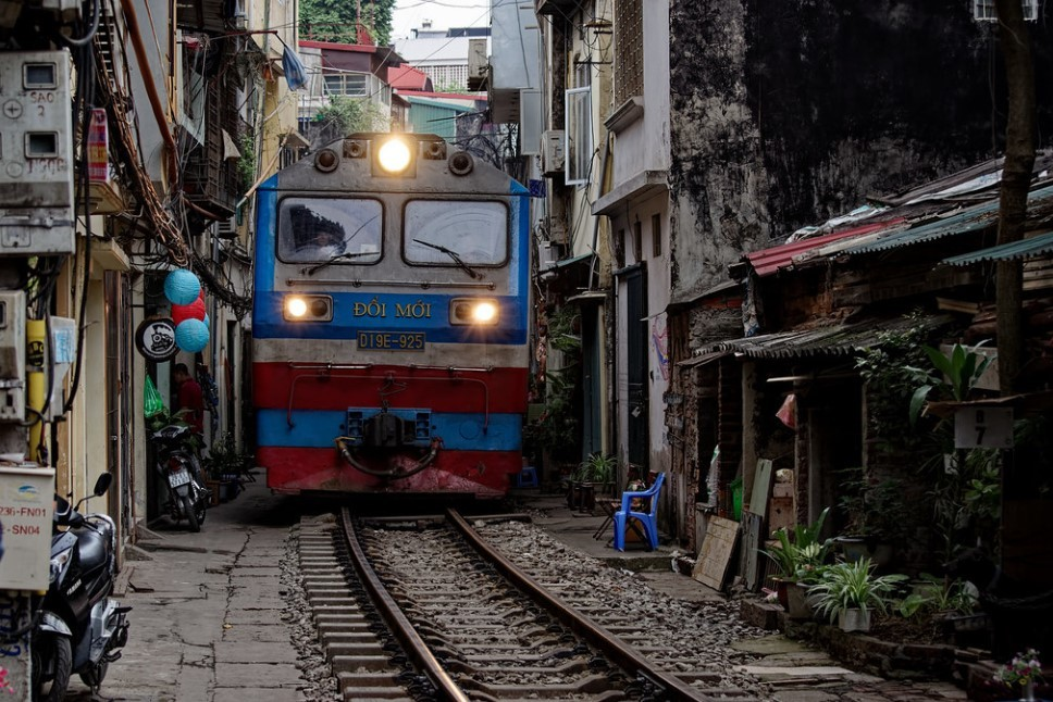 Train in Vietnam