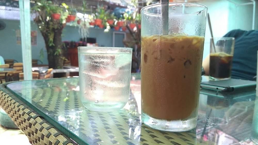Enjoy a tasty Vietnamese coffee