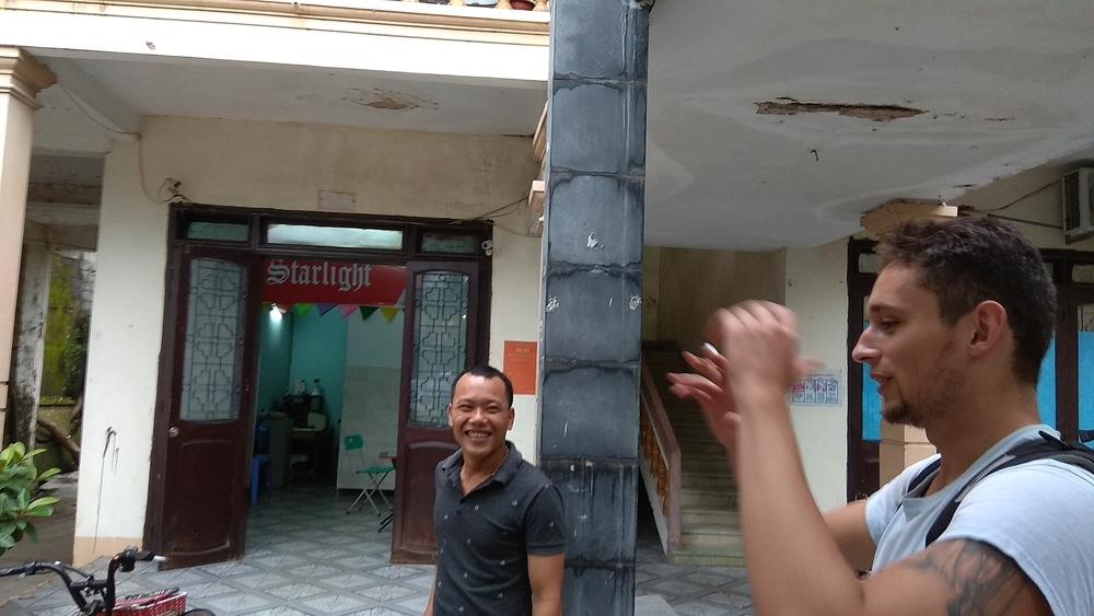 Friendly Vietnamese people