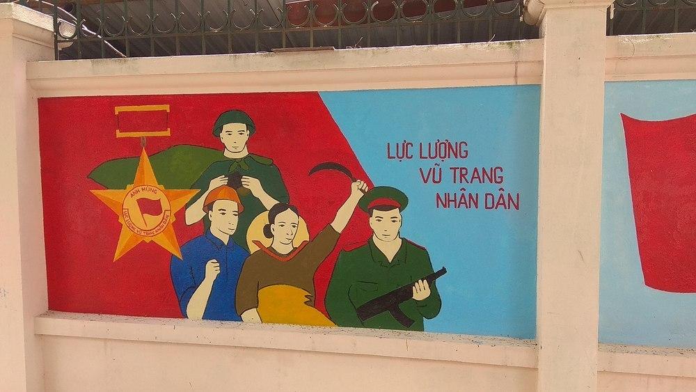 Propaganda art in Hanoi