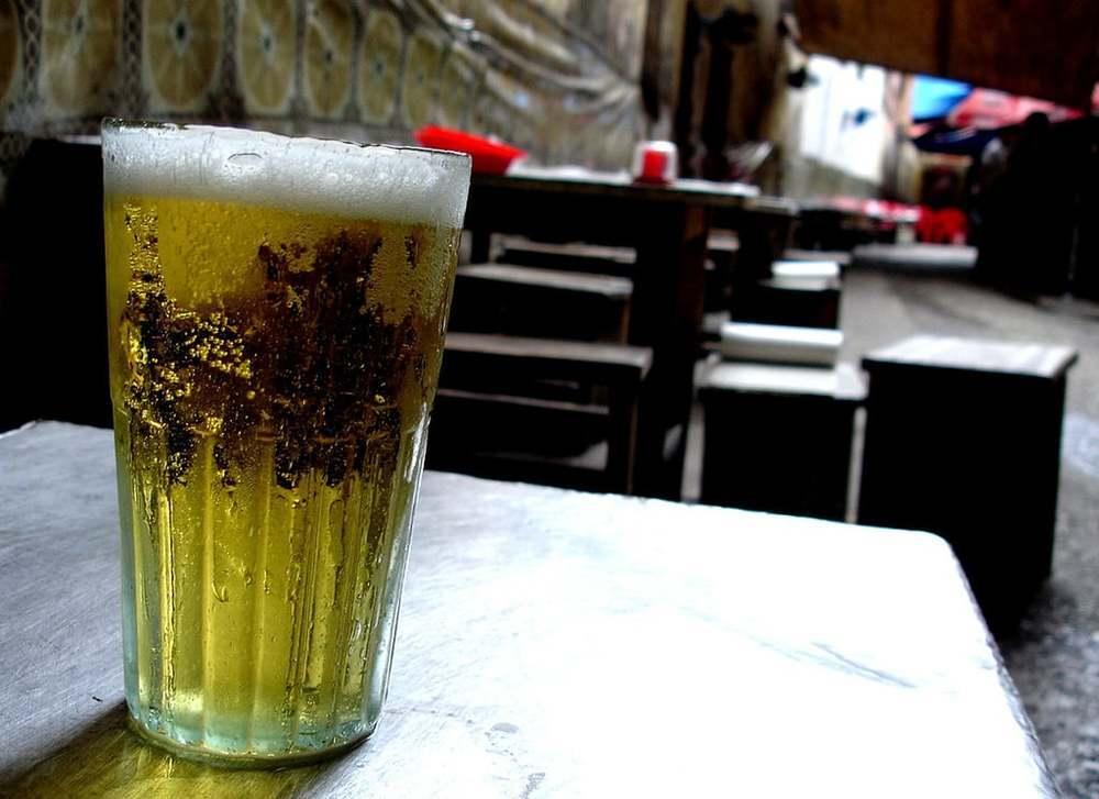 Vietnamese fresh beer