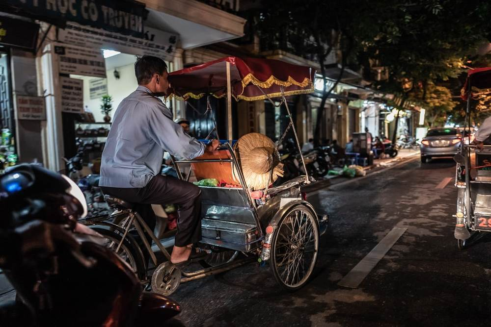 Cyclo is an ideal type of local transportation to just cruise around the cities of Vietnam.