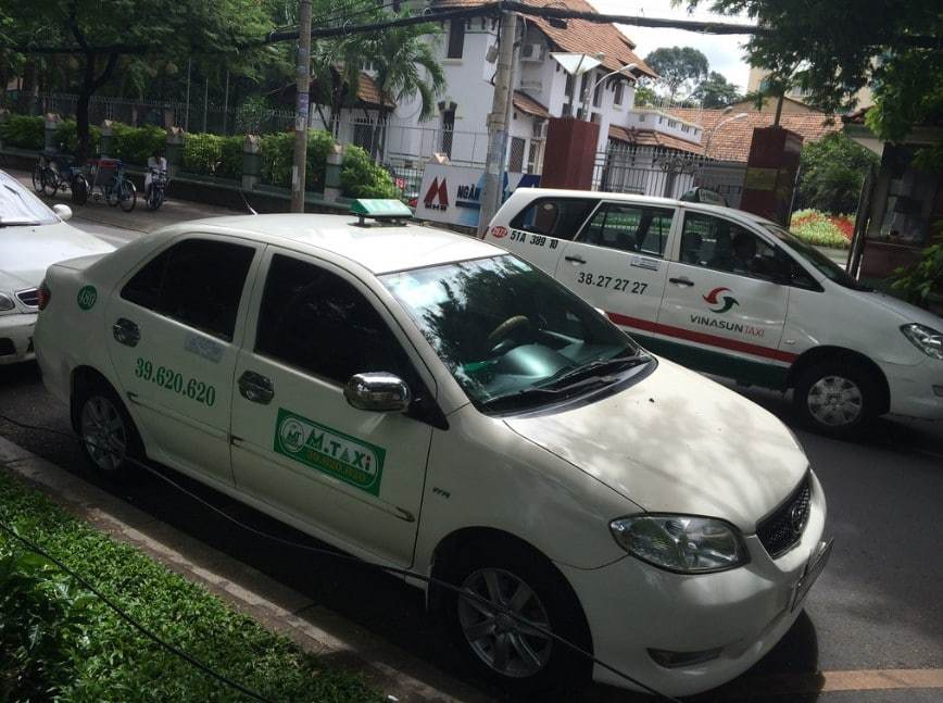 Fake taxi in Vietnam
