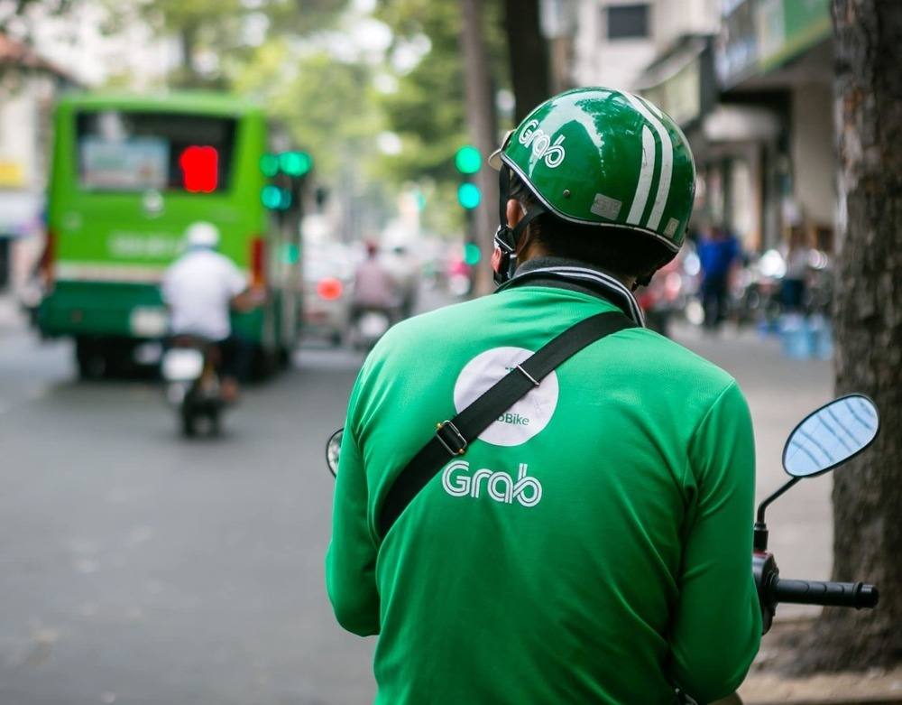 You can find Grab drivers everywhere around cities of Vietnam.