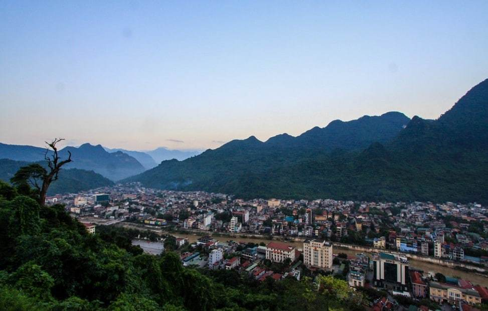 Ha Giang city views