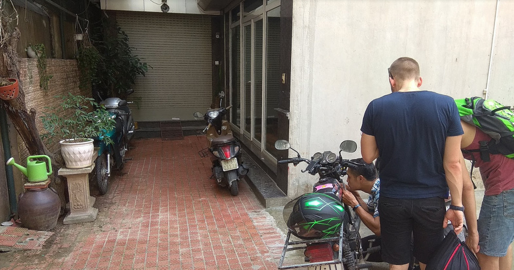 Vietnam by motorbike - be sure to check your blue card numbers before getting a bike