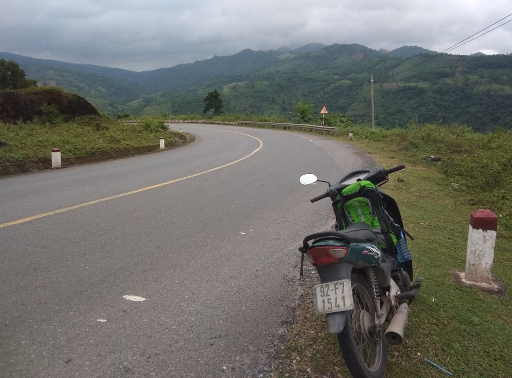 If you travel Vietnam by motorbike you can expect views like this one!
