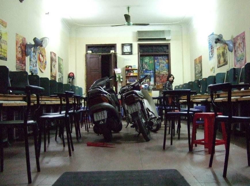 Internet cafe in Vietnam
