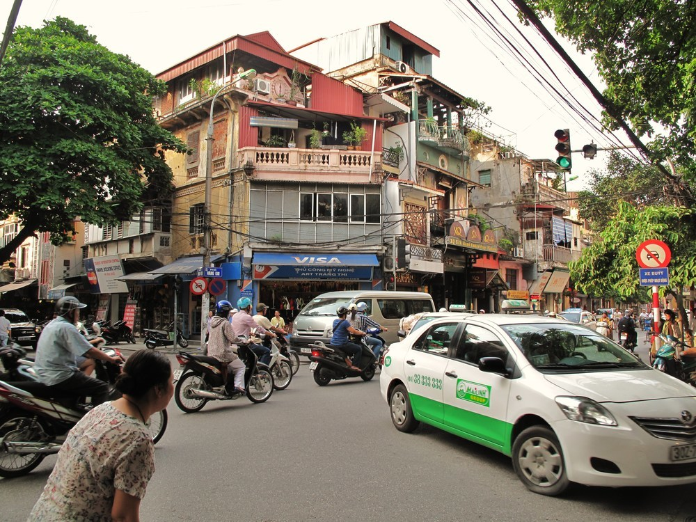 There are numerous diverse means of local transportation in Vietnam.