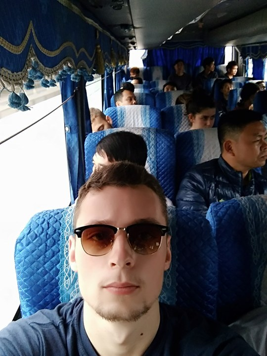 National buses in Vietnam are slowly being upgraded by the government. They are noticeably more uncomfortable than the open tour buses though.