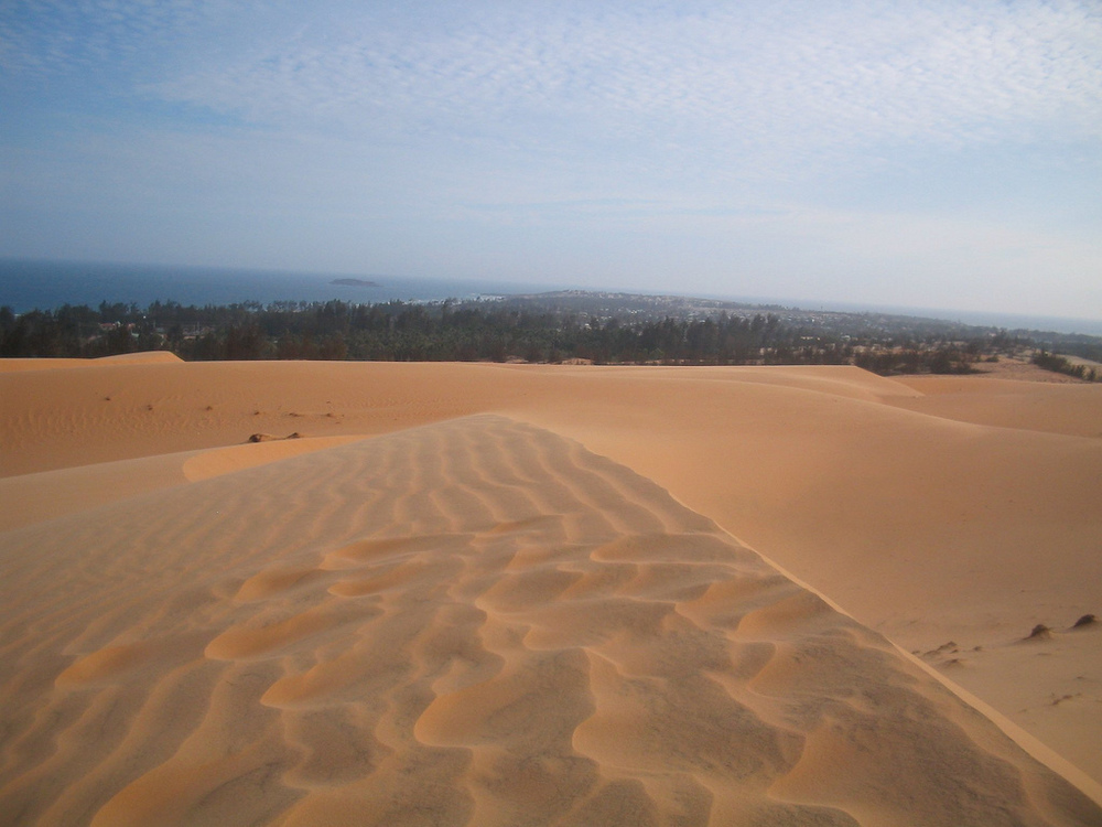 Check out the Red Sand Dunes!