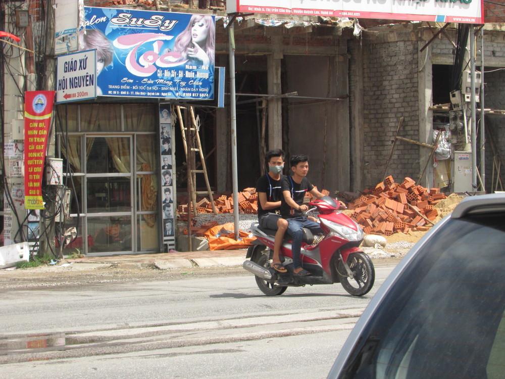 Renting motorbike from locals
