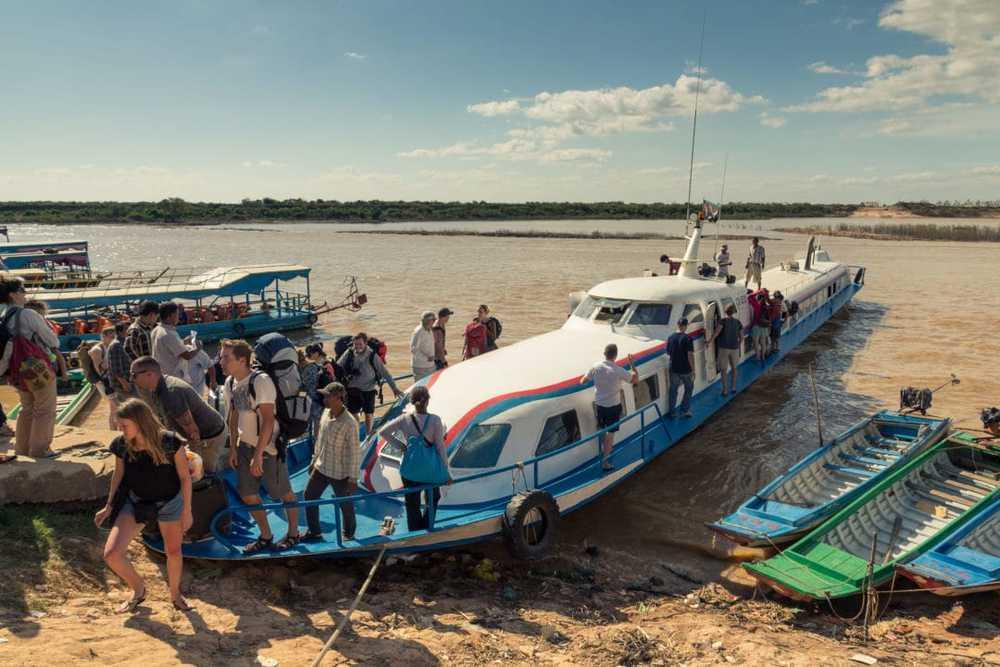 Ferry from Siem Reap.