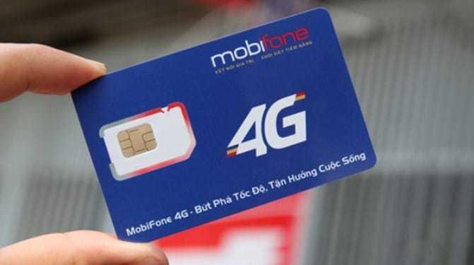 Mobifone SIM card