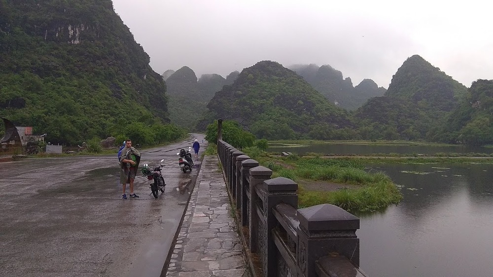 Cruise around Trang An and marvel at the epic landscape